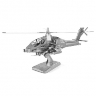 3D model - Apache Helicopter