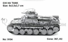 3D model - Tank Chi Ha