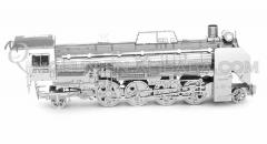 3D model -Locomotive D51 Train